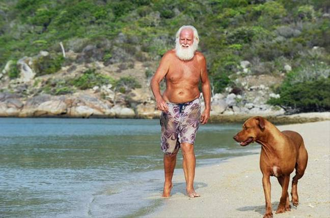 ​Former Millionaire Living Alone On Island Shares Survival Tips