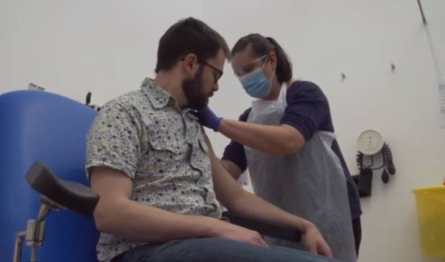 Moment First Coronavirus Vaccine Volunteers Are Injected For Human Trials